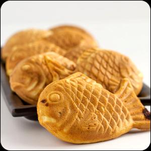Японские вафли Тайяки