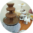Шоколадный фонтан для дам