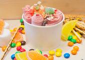Тайское жареное ролл-мороженое