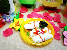 Тайское жареное ролл-мороженое для Kupivip